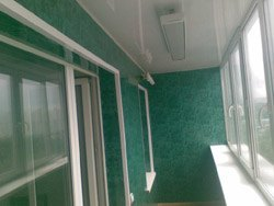 козырьки на балкон в Краснодаре